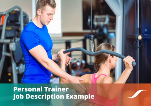 Personal Trainer Job Description Banner
