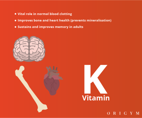 personal trainer meal plan: vitamin k