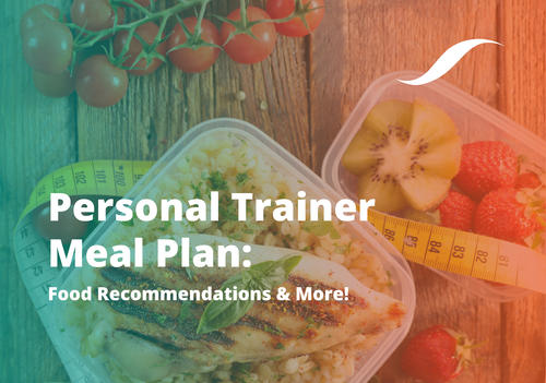 personal trainer meal plan: head image