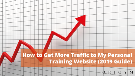 How to Get More Traffic to My Personal Training Website Banner