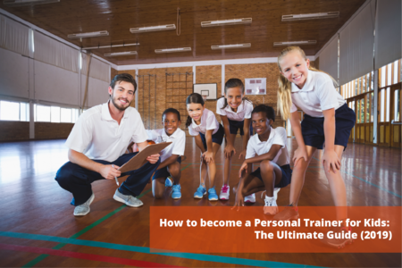 personal trainer for kids: header image