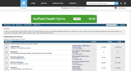 getting traffic from fitness forums image