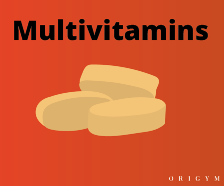 exercise after giving blood: multivitamins