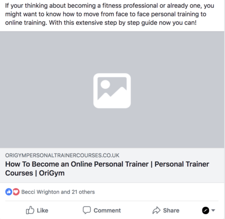 How to start a fitness blog image