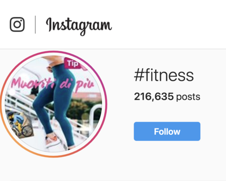 Best Fitness Hashtags image