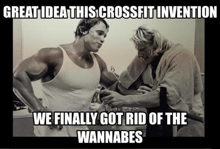 fitness memes: great idea this crossfit invention