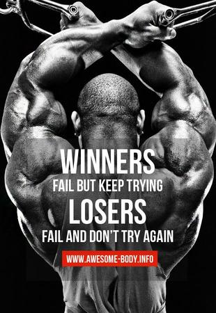fitness memes: winners fail but keep trying