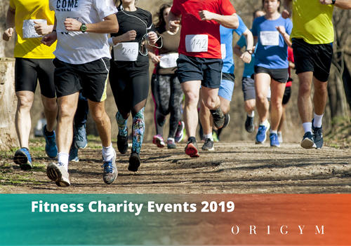 Fitness Charity Events Banner Image