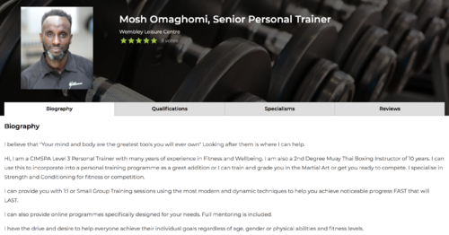 where to find a personal trainer image