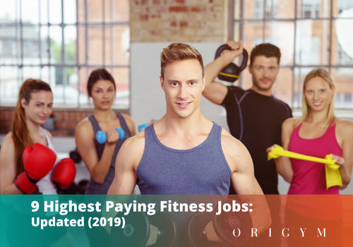 Highest paying fitness jobs: banner for article