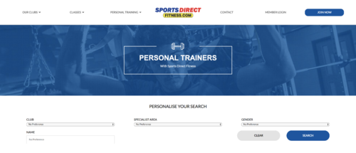 How to find a personal trainer UK Image