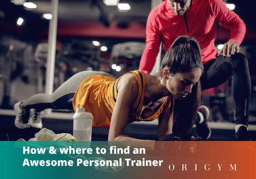 How to find a Personal Trainer Near Me Banner