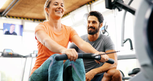 How to get the most out of your personal trainer image
