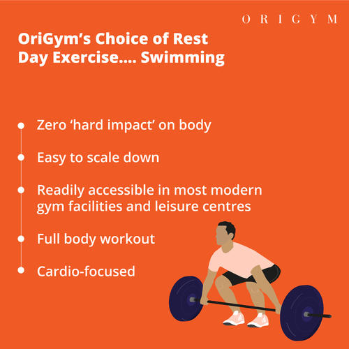 Importance of rest days - Swimming