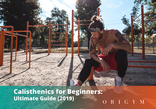 calisthenics for beginners: header image for article