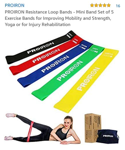 best resistance bands: proiron picture