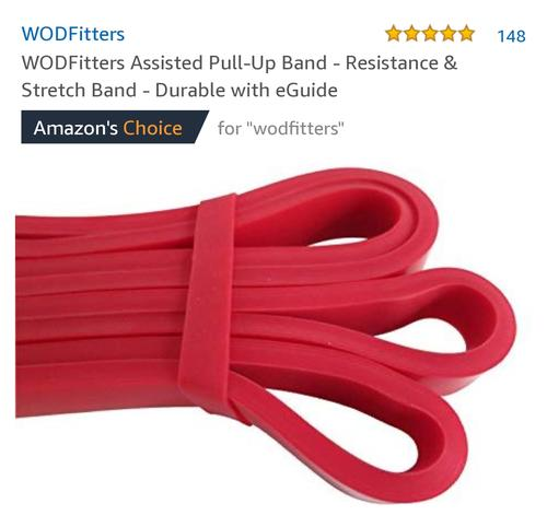 best resistance bands: WODFitters band picture