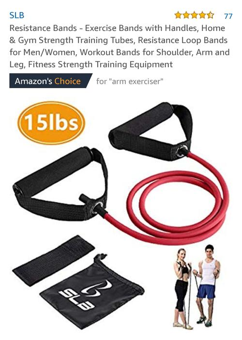 best resistance bands: SLB picture