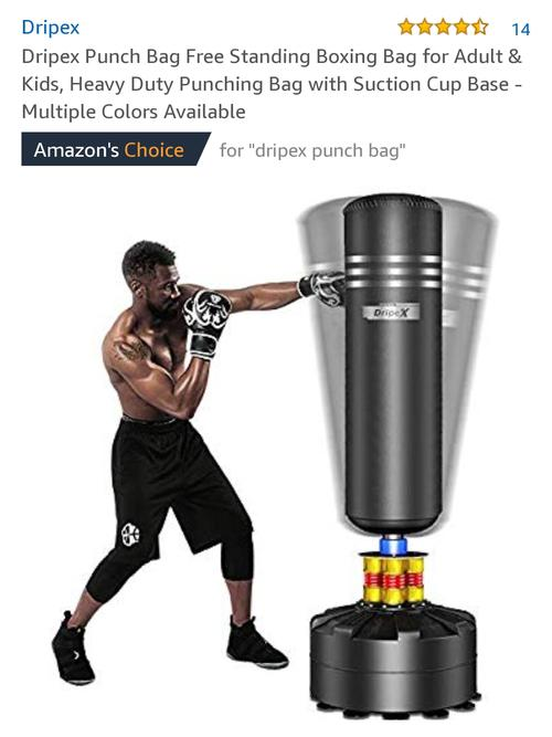 best punching bag: dripex punching bag