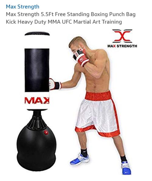 best punching bag: max strength punching bag