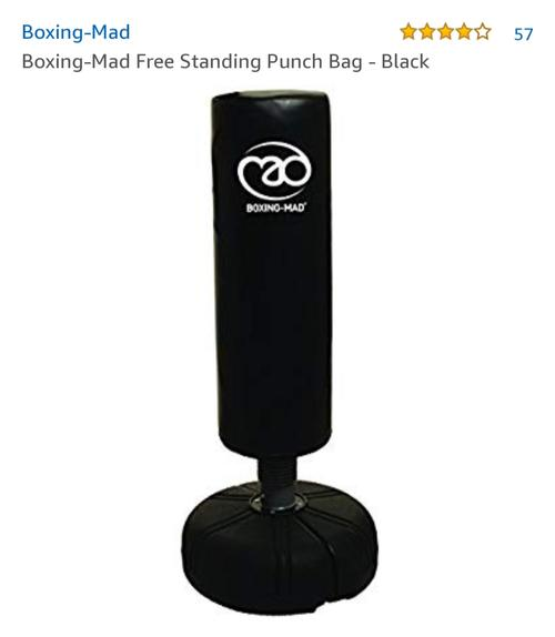 best punching bag: boxing mad punching bag
