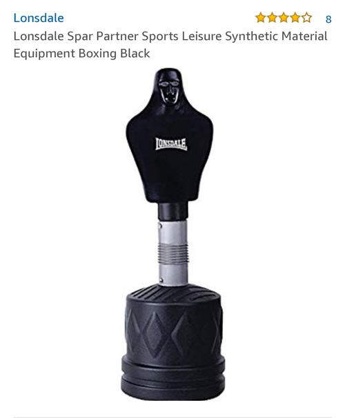 best punching bag: lonsdale punch bag