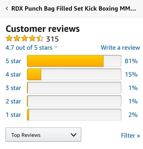 best punching bag: rdx review