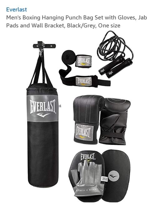 best punching bag: everlast