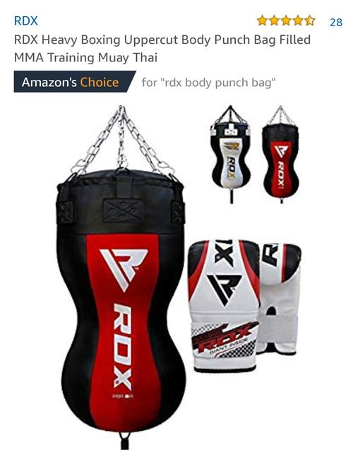 best punching bag: body shape bag