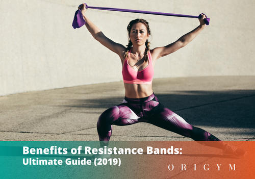 Resistance Bands Range of Strength Levels for Full Body Workout Gym Training