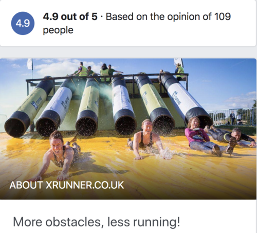 Inflatable water obstacle course image
