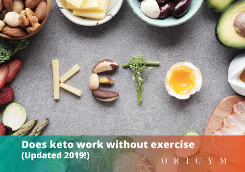 Does Keto Work Without Exercise Banner