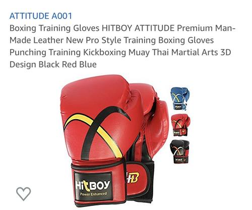 best boxing gloves: attitude