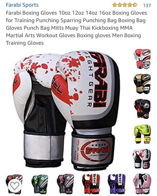 best boxing gloves: farabi sports