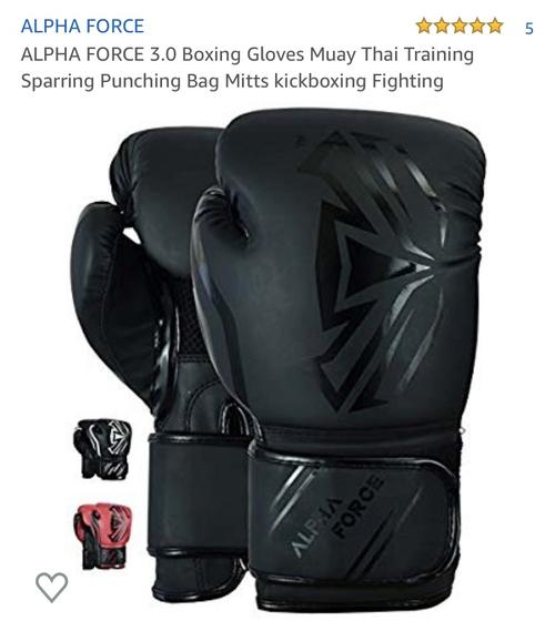 best boxing gloves: alpha force