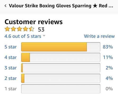 best boxing gloves: valour review