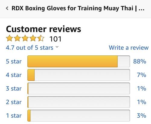 best boxing gloves: rdx full black gloves