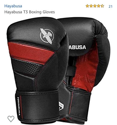 best boxing gloves: hayabusa gloves