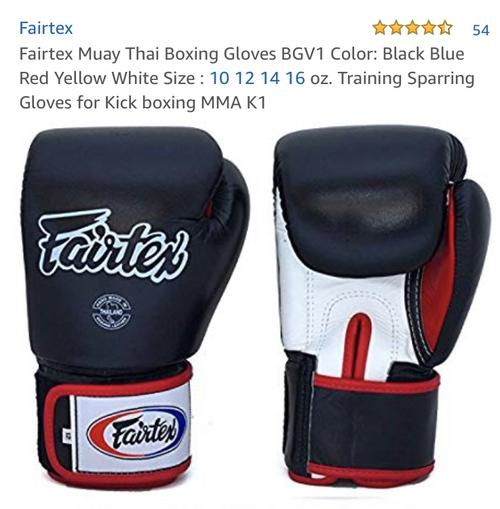 best boxing gloves: fairtex