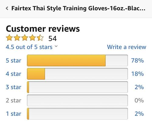 best boxing gloves: fairtex review