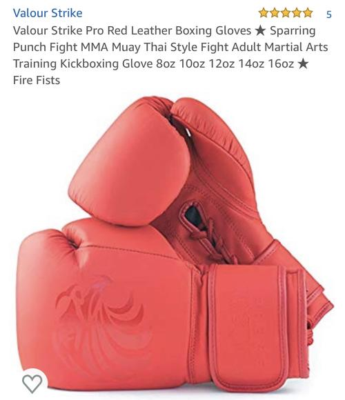 best boxing gloves: valour strike professional boxing gloves