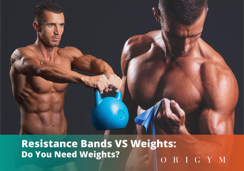 Resistance bands vs weights: header image