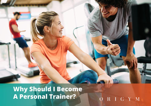 Why should I become a personal trainer Banner Image