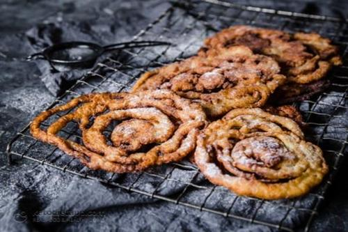 nutrition blogs: keto funnel cakes