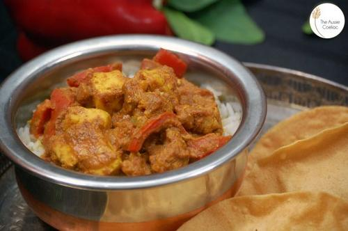 nutrition blogs: paneer curry