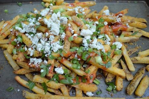 nutritional blogs: fries with cheese