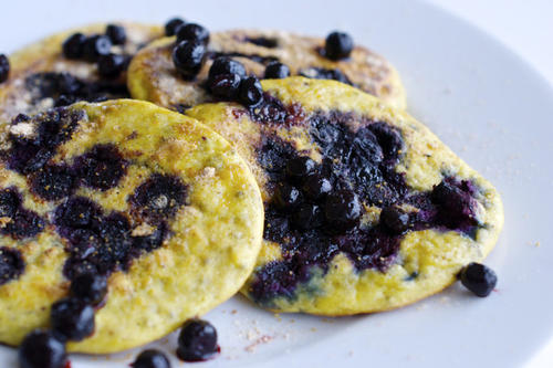 nutrition blogs blueberry pancakes