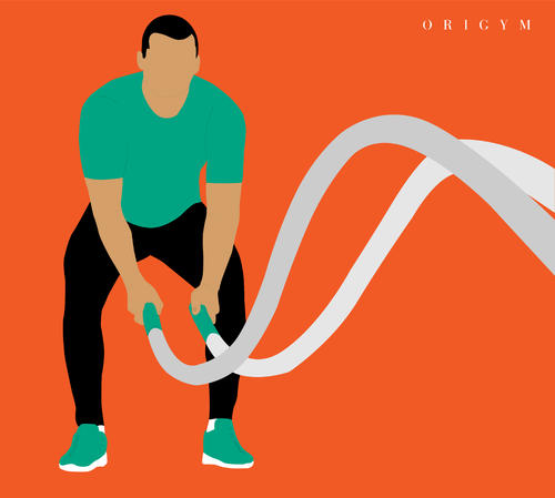 battle ropes benefits: low impact