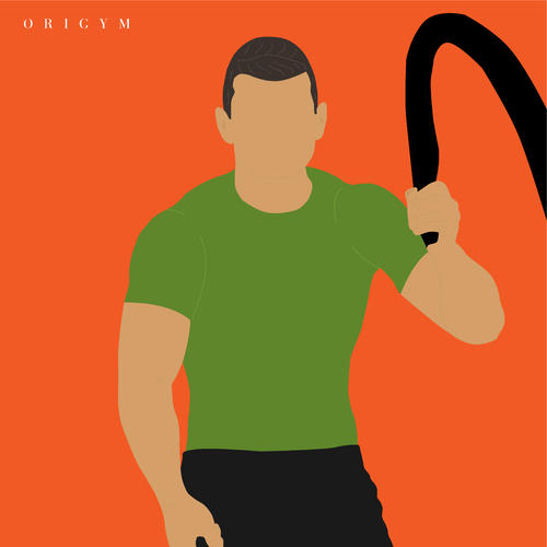 battle ropes benefits: moving muscles