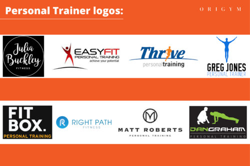 Personal Trainer Logos Image